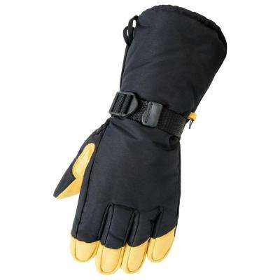 Deerskin Gauntlet Medium Tan Glove