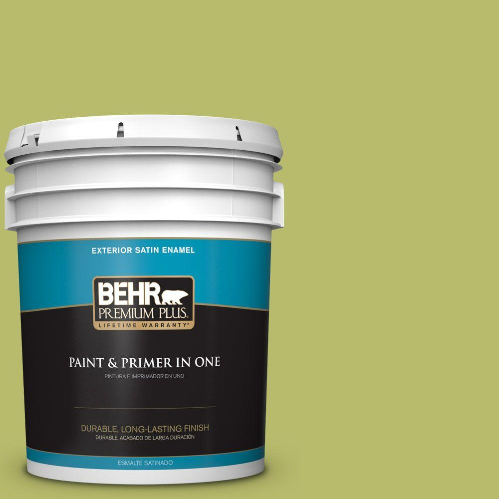 5-gal. #P360-5 Citrus Peel Satin Enamel Exterior Paint