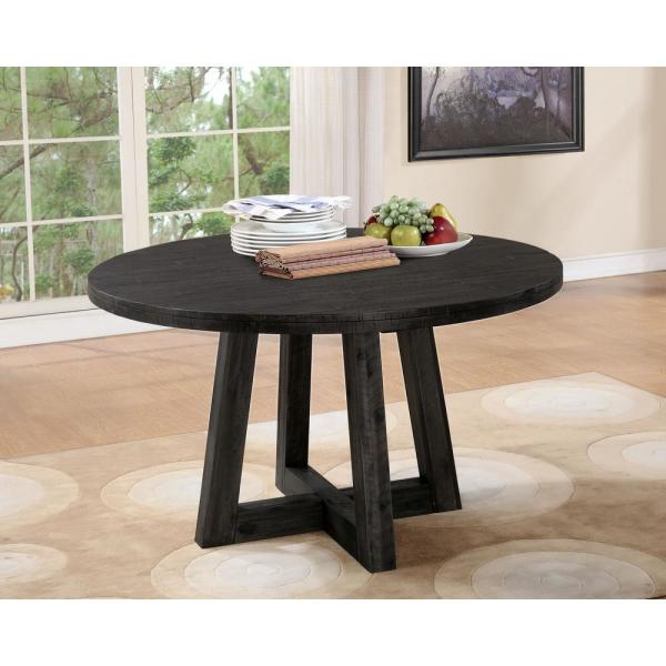 Modus Furniture Crossroads Orson Antique Coffee Solid Wood Dining Table 9k2061o The Home Depot
