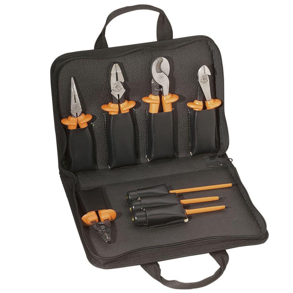 8-Piece Premium Insulated Tool Set