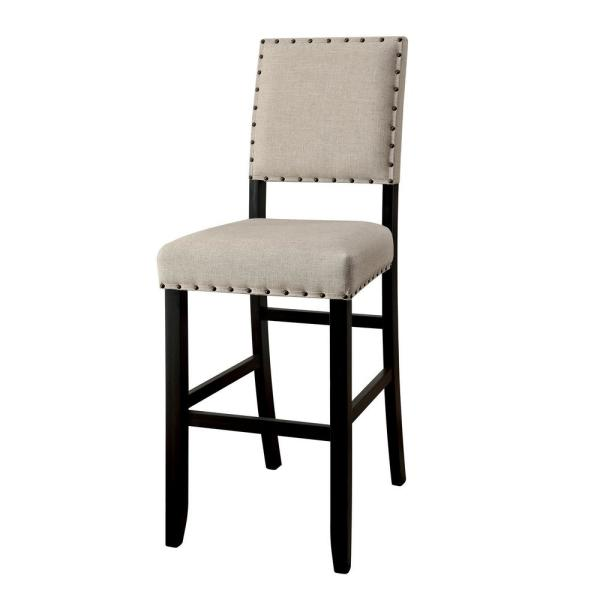William's Home Furnishing Sania II Antique Black Transitional Style Bar