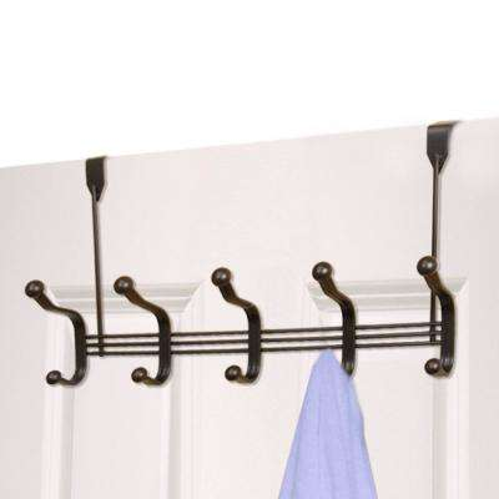Over-the-Door Bronze 5-Hook