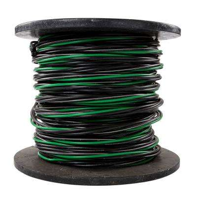 500 ft. 2/0-2/0-2/0-1 Black Stranded AL MHF USE-2 Cable
