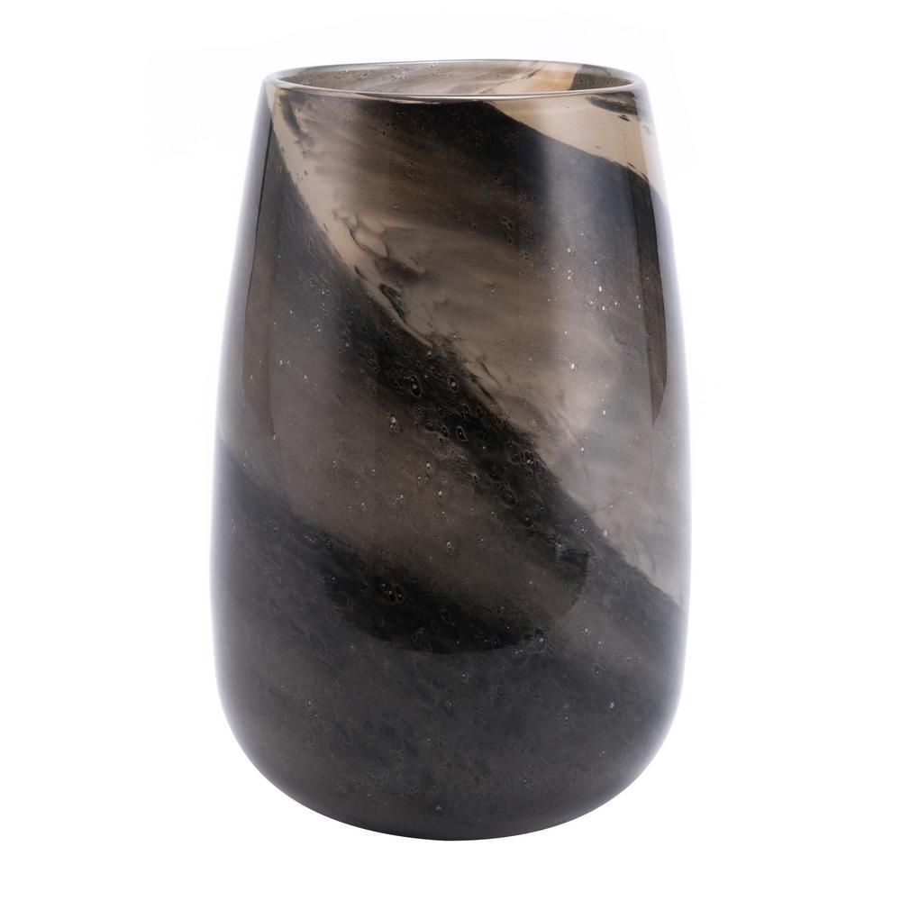 Zuo Translucent Brown Dawn Medium Decorative Vase A11209 The Home