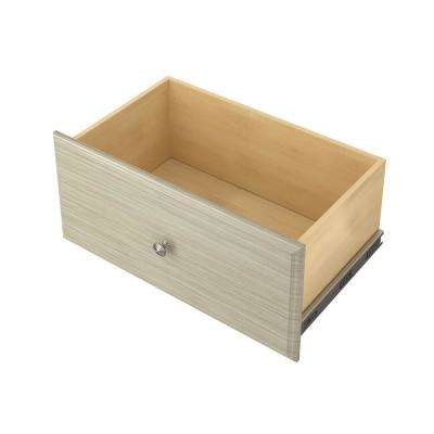 12 in x 24 in. Rustic Grey Deluxe Drawer Kit