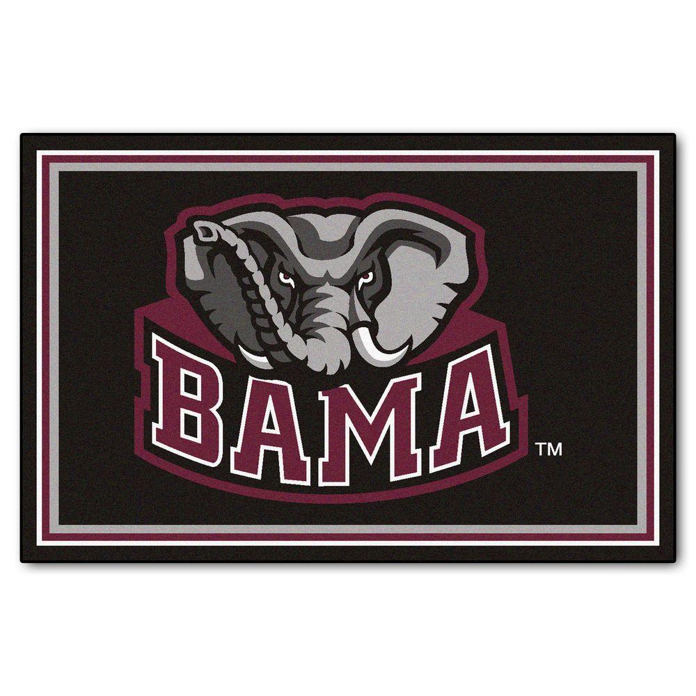 University of Alabama 5 ft. x 8 ft. Area Rug