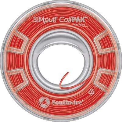 1000 ft. 12 Red Solid CU CoilPAK SIMpull THHN Wire