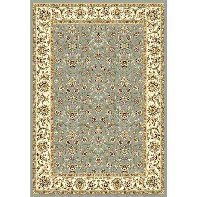 Lyndhurst Light Blue/Ivory 5 ft. x 8 ft. Area Rug