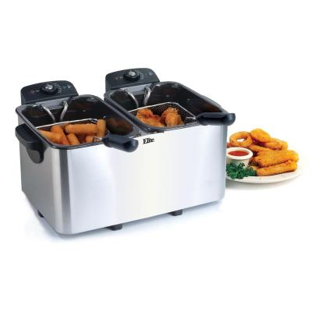 Elite-Platinum Non-Stick Enamel Deep Fryer