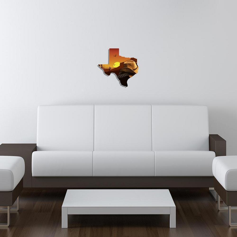 Texas Sunset Guitar Metal Wall Art-101410034-SUNSETGUITAR - The Home ...
