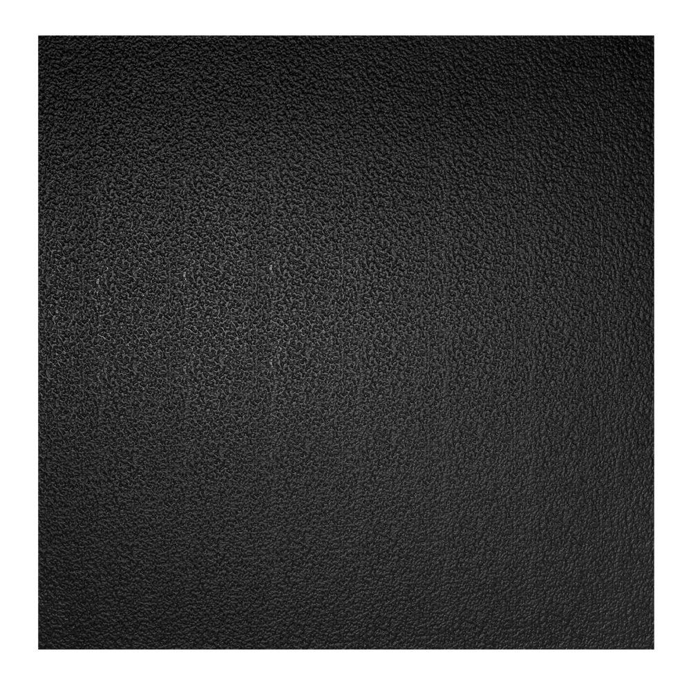 Genesis 2 ft x 2 ft stucco pro black ceiling tile 760 07 the stucco pro black ceiling tile dailygadgetfo Images