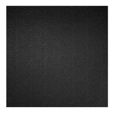 2 ft. x 2 ft. Stucco Pro Black Ceiling Tile