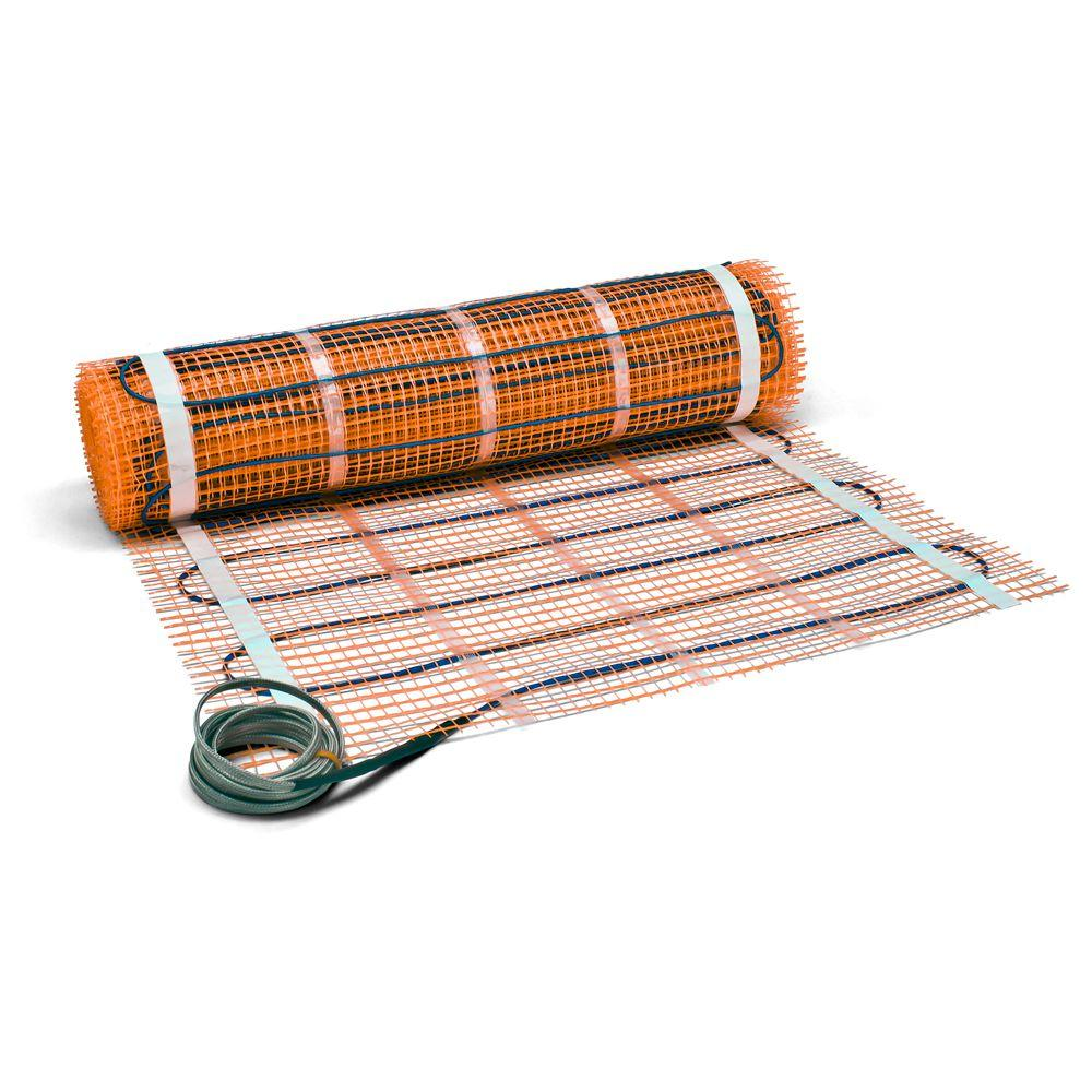 Under Floor Heating Flooring The Home Depot