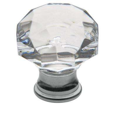 1-3/8 in. Polished Chrome Cabinet Knob