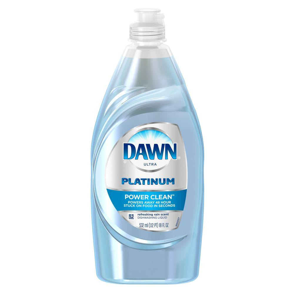 Ultra Platinum Power Clean 20 oz. Refreshing Rain Scent Dish Soap