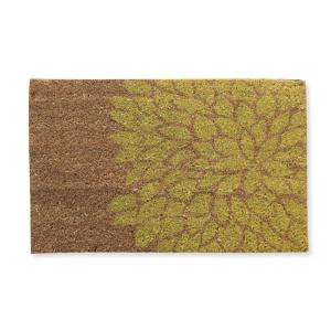 A1HC First Impression Layla Flower 18 inch x 30 inch Coir Door Mat