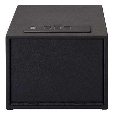 0.402 cu. ft. Steel Personal Safe with Quick Access Electronic Lock, Black