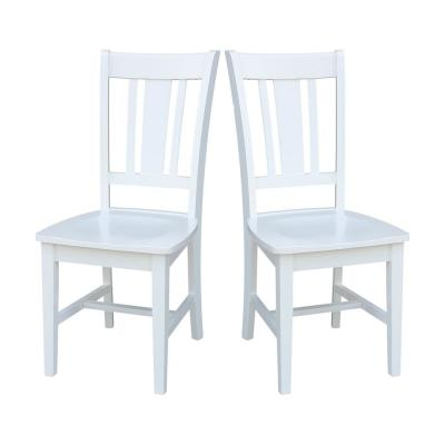 San Remo Pure White Dining Chair (Set of 2)