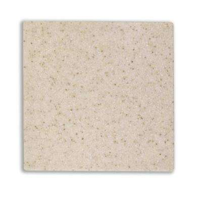 4 in. x 4 in. Solid Surface Countertop Sample in Tropea