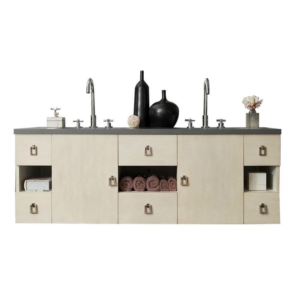 Home Depot Sonoma Vanity: James Martin Signature Vanities Sonoma 60 In. W Double
