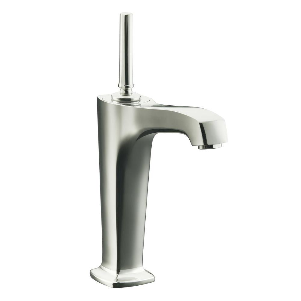 1 - Nickel - KOHLER - Vessel Bathroom Sink Faucets - Bathroom Sink ...
