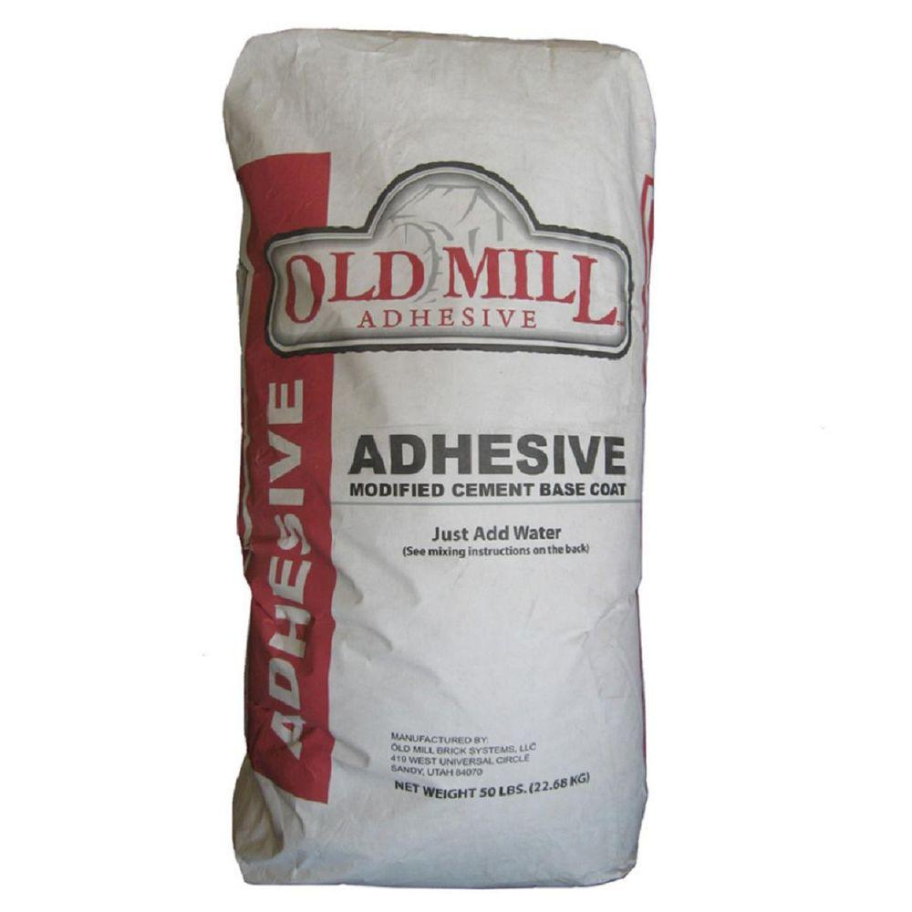 20 in x 10 in x 5 in old mill thin brick systems 50 lb adhesive rh homedepot com