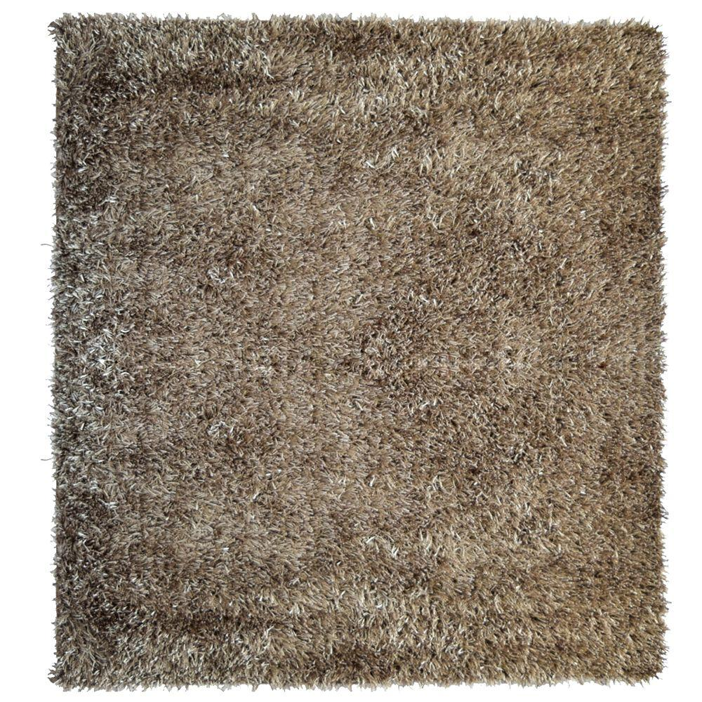 City Sheen Clay 5 ft. x 5 ft. Square Area Rug