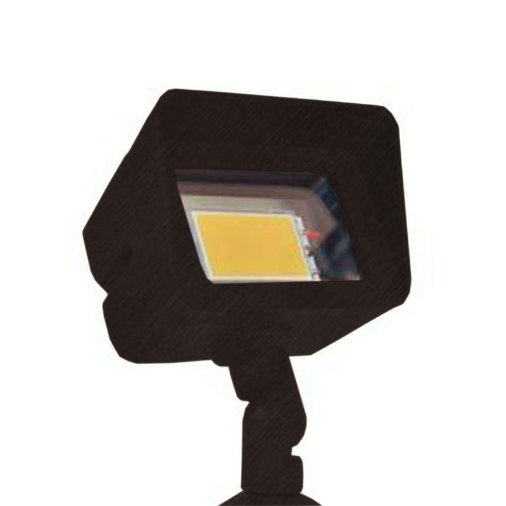 Filament Design Centennial 1-Light Outdoor LED Black Acid Treated Directional Light