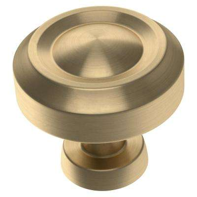 Simple Farmhouse 1-3/16 in. (30 mm) Champagne Bronze Cabinet Knob