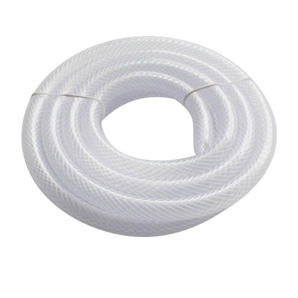 5/8 in. O.D. x 3/8 in. I.D. x 10 ft. PVC Braided Vinyl Tube