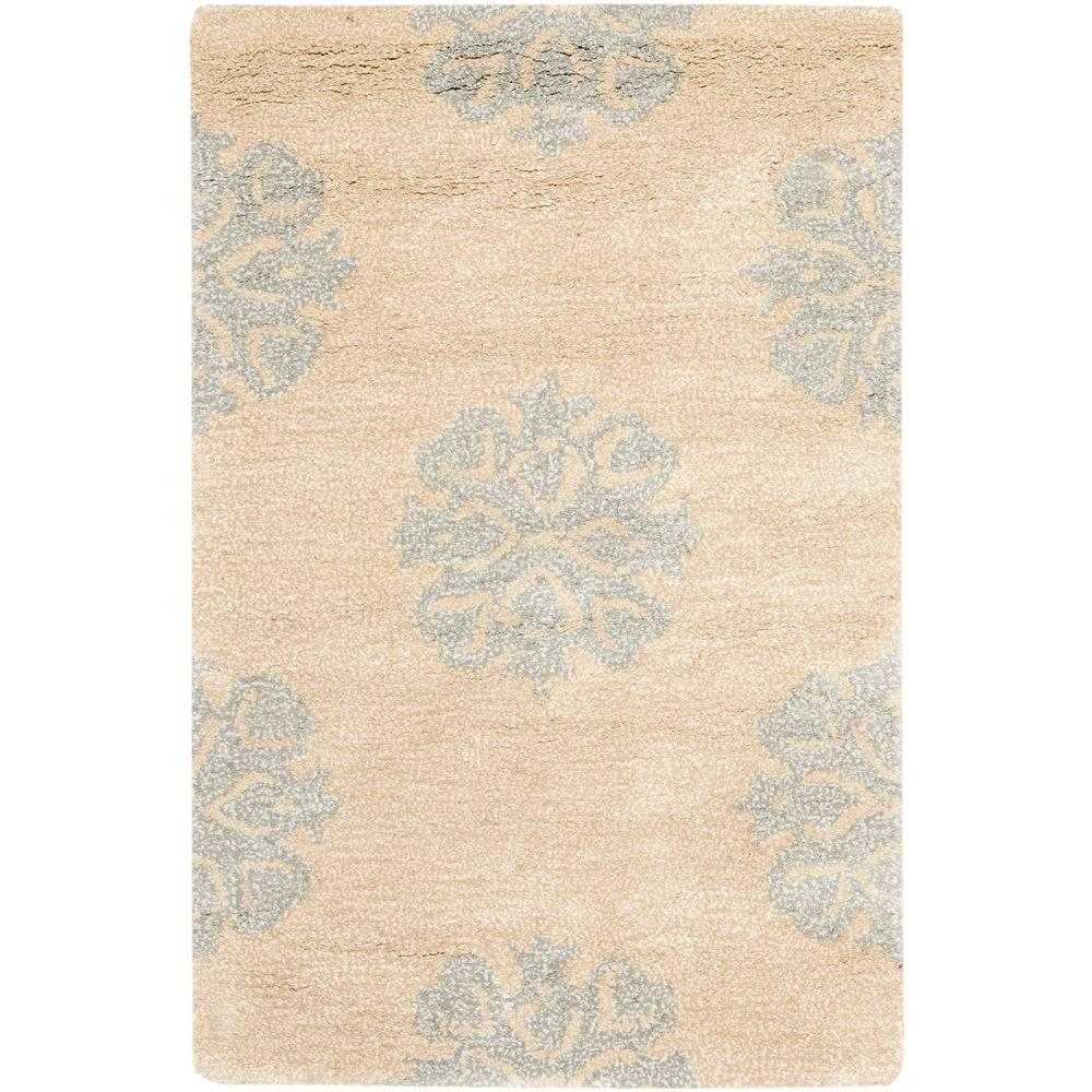 Soho Beige 3 ft. 6 in. x 5 ft. 6 in.