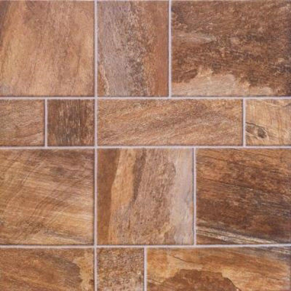 Innovations Amber Random Slate Laminate Flooring - 5 in. x 7 in. Take Home Sample