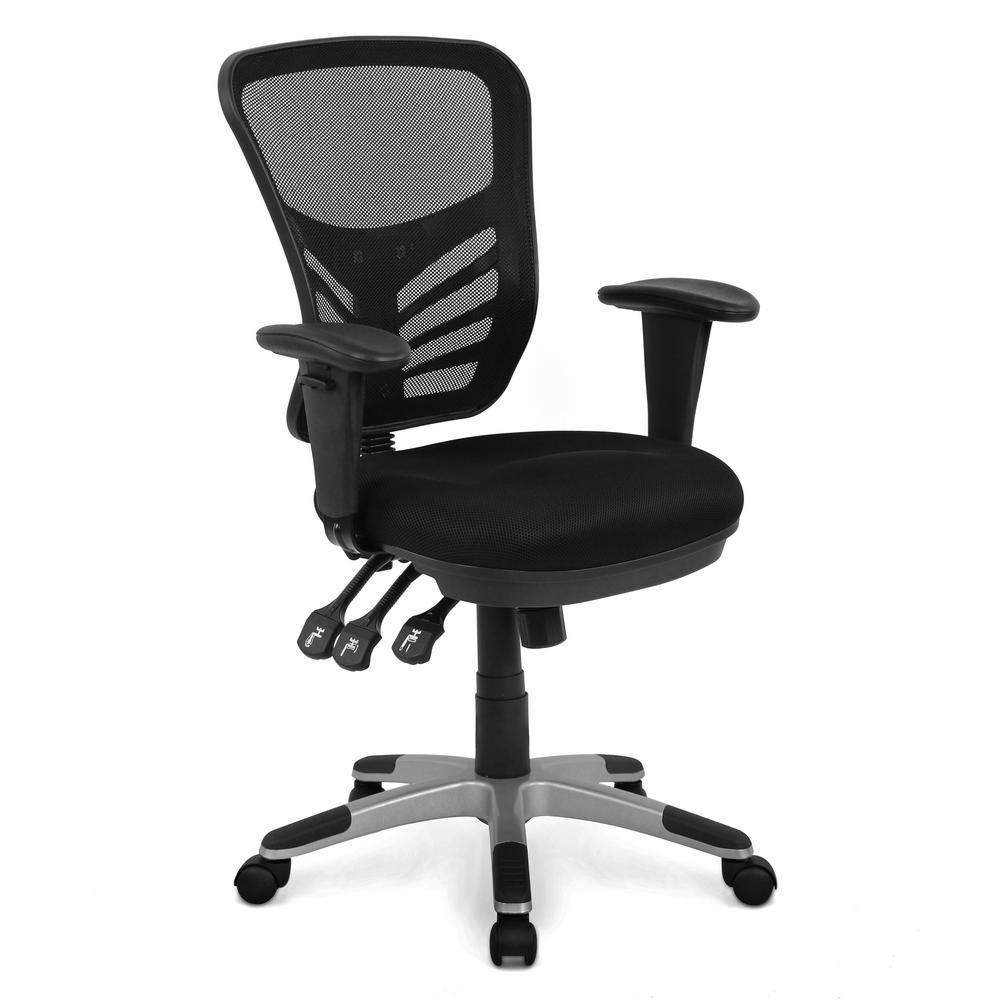 Brighton Office Chair in Black