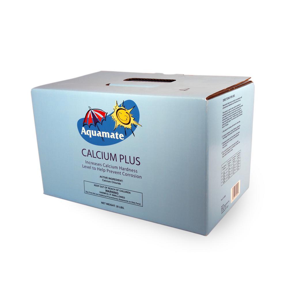 Aquamate 20 Lb Calcium Plus 1 2820 The Home Depot