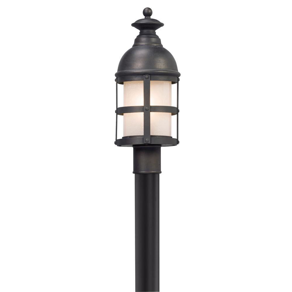 Webster Outdoor Vintage Bronze Post Light