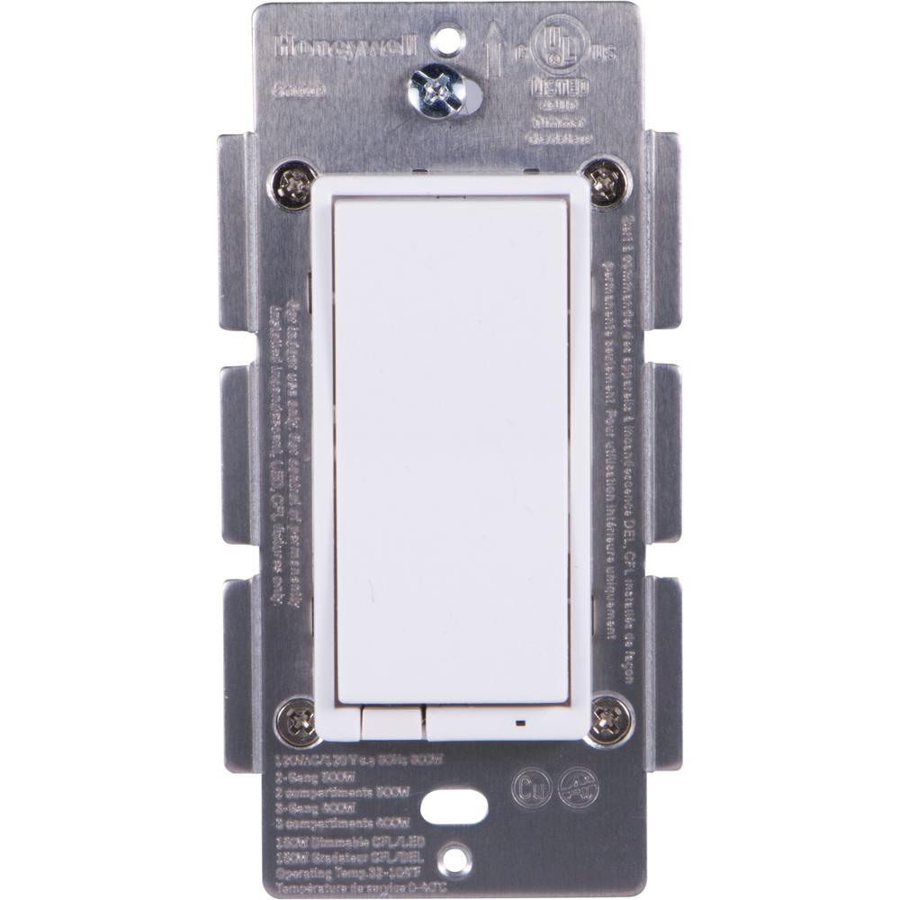 Honeywell Z-Wave Plus Single Plug In-Wall Smart Dimmer