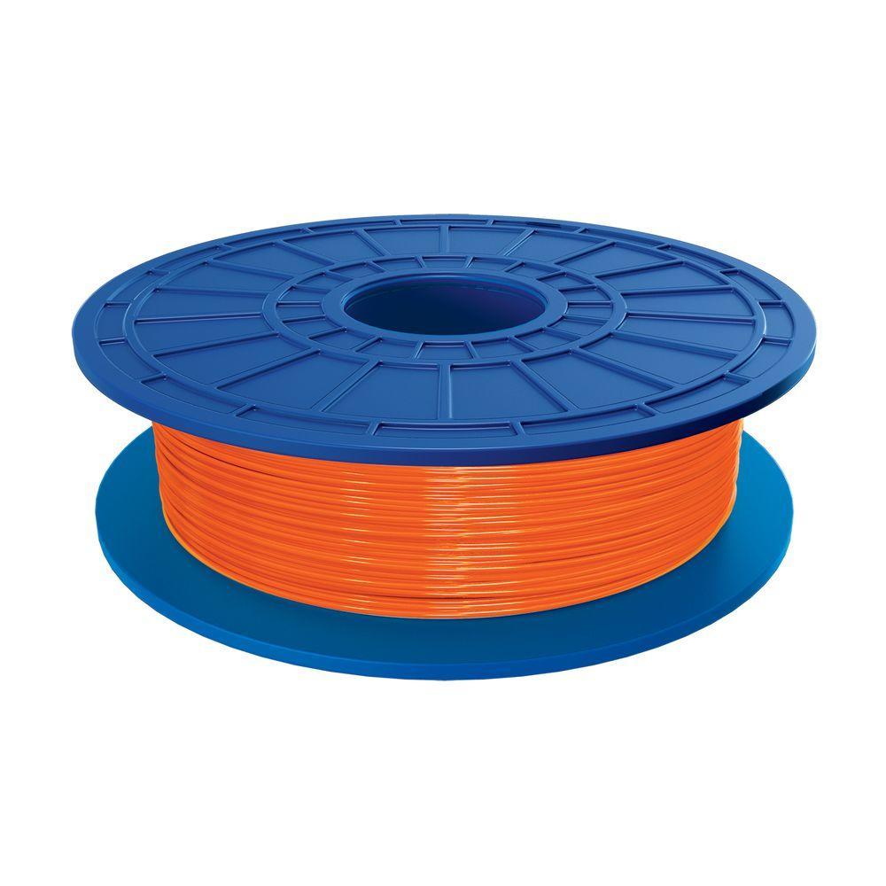 1.1 lbs. Orange PLA Filament for 3D Idea Builder Printer