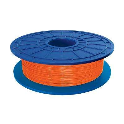 1.1 lbs. Orange PLA Filament for 3D Idea Builder Printer