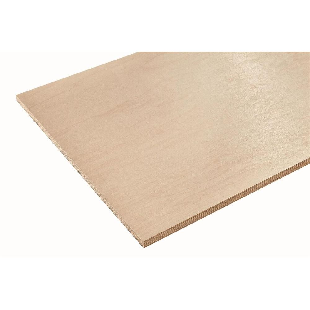Columbia Forest Products 3/4 in. x 2 ft. x 8 ft. Europly Maple Plywood Project Panel (Free Custom Cut Available)
