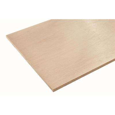 3/4 in. x 2 ft. x 8 ft. Europly Maple Plywood Project Panel (Free Custom Cut Available)