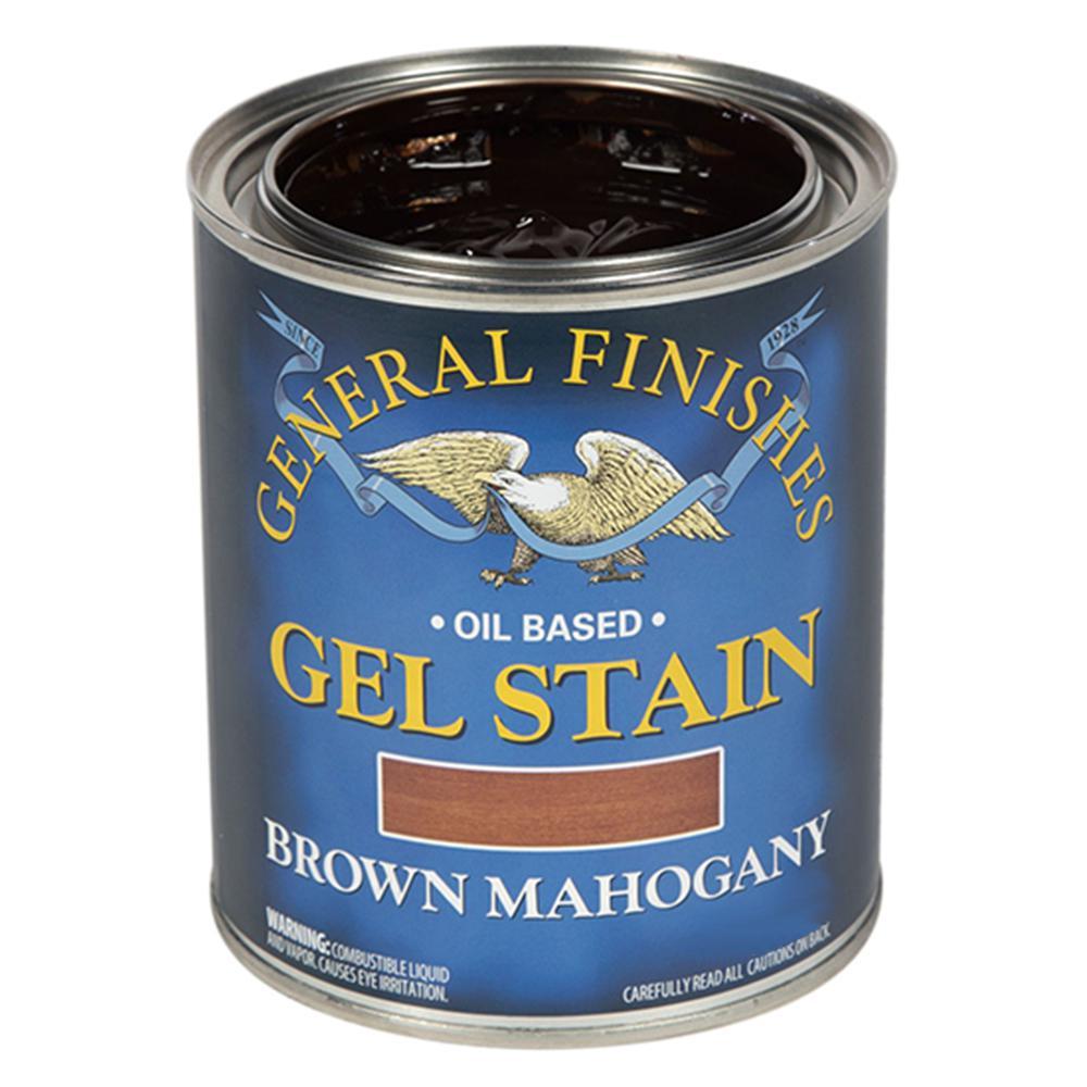 Brown Mahogany Oil Based Interior Wood Gel Stain