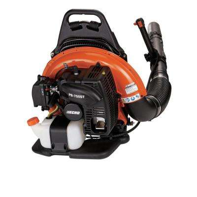 233 MPH 651 CFM 63.3cc Gas 2-Stroke Cycle Backpack Leaf Blower with Tube Throttle