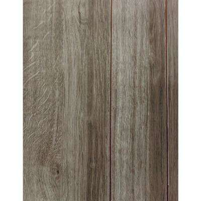 1/8 in. x 48 in. x 96 in. Ashwood Random Grooved Wall Panel