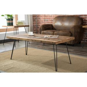 222 Fifth North Shore Brown Live Edge Coffee Table