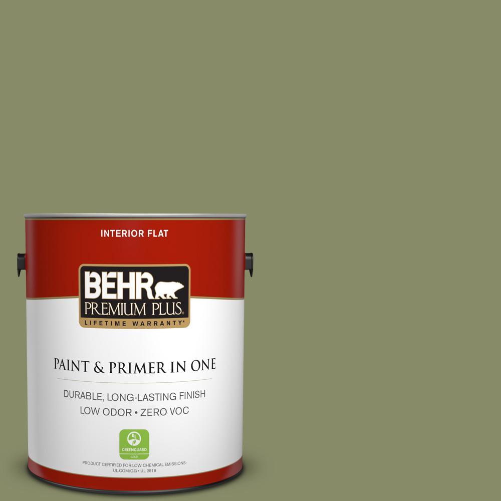 BEHR Premium Plus 1-gal. #S360-5 Yogi Flat Interior Paint