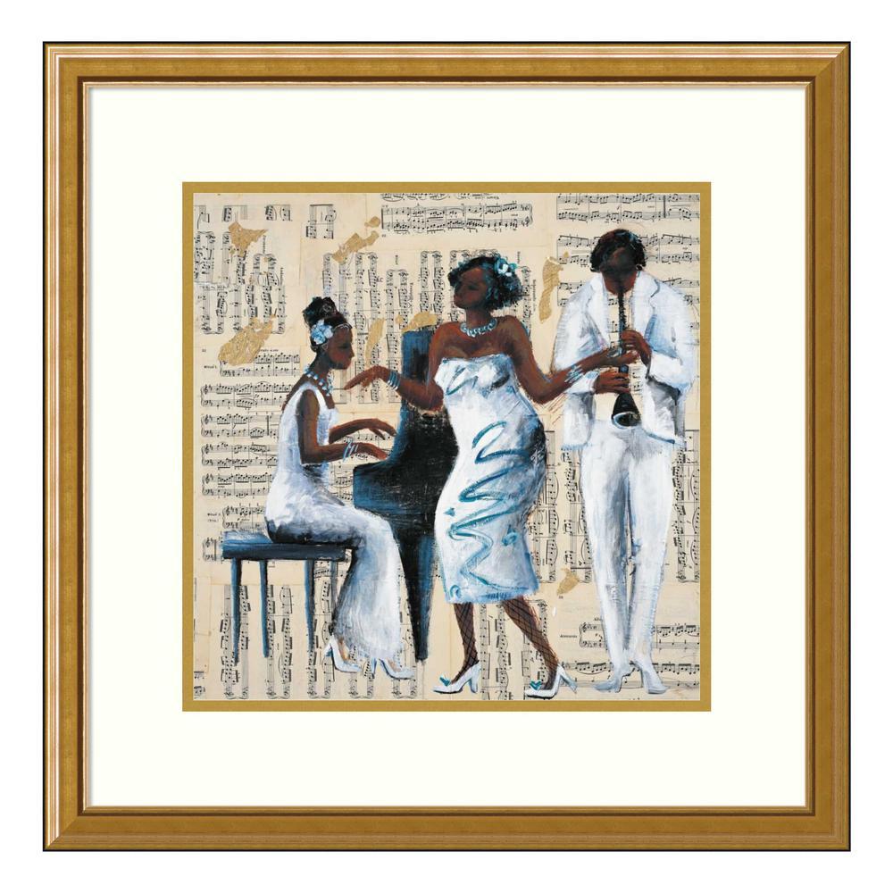 Amanti Art ''Blue Moon'' by Tat Vila Framed Wall Art DSW4366144
