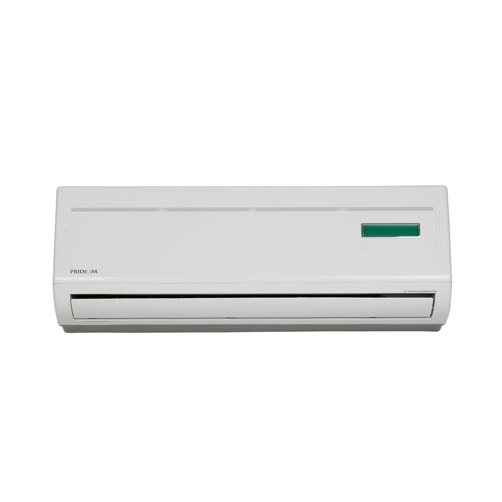 Pridiom 12 000 btu mini split air conditioner with heat for 12000 btu ac heater window unit