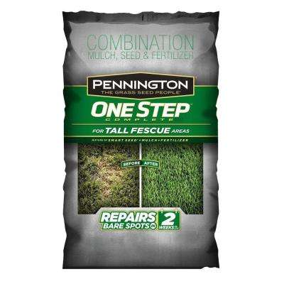 35 lb. One Step Complete Complete for Tall Fescue with Smart Seed, Mulch, Fertilizer Mix
