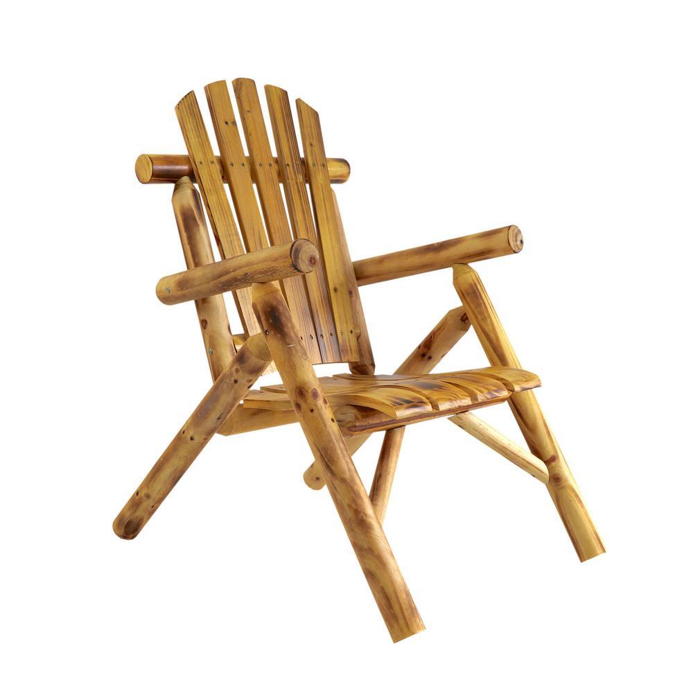 Long Original Wood Outdoor Rocking Chair