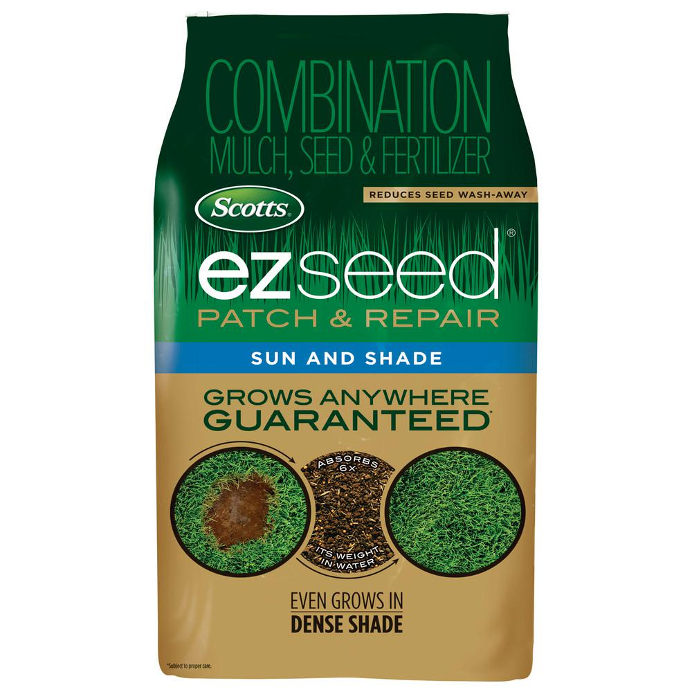 Scotts 20 Lb Ez Seed Sun Shade 17532 The Home Depot